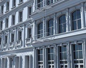 3D model Commercial Building Facade 18