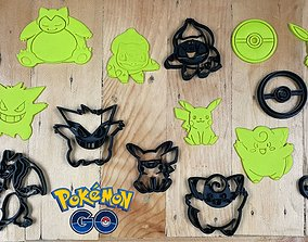 3D printable model Pokemon Go Characters