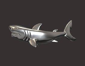 nature Shark pendant 3D print model