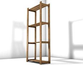 Wood rack 3D