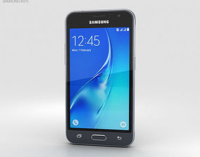 Samsung Galaxy J1 2016 Black 3D