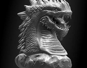 Printable Dragon Statue