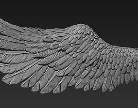 3D print model statue wings