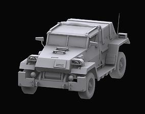 Gundam Zeon Jeep model