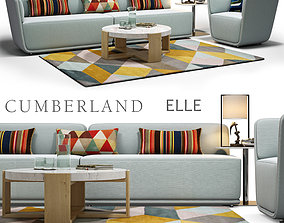 Cumberland ELLE sofa 3D model
