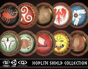 3D model Hoplite Shield Collection 3