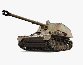 NASHORN Tank Destroyer SdKfz 164 3D model