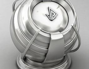 3D model VRAY SHADER---METAL---Zinc