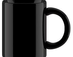 3D model Coffee Mug Black