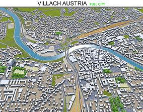 3D asset Villach Austria 40km