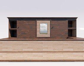 Lobby Counter 2 3D asset