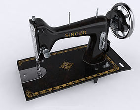 3D Sewing machine furniture