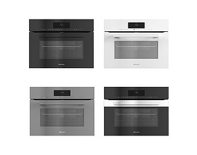 Collection of household appliances by MIELE 08 3D