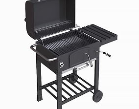 3D Charcoal Grill barbecue