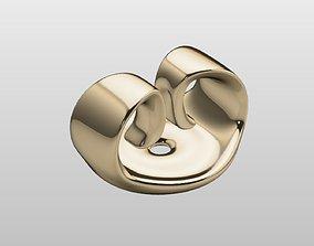 Earring Backing 3D print model