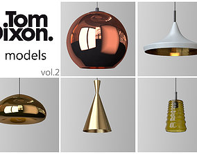 3D model TOM DIXON lighting set 2
