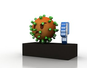 3D asset VR / AR ready Coronavirus consequences