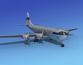 Boeing 377 Pan Am 1 3D model