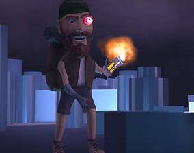 3D model animated DIGITAL EXPLORER