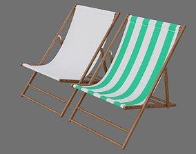 Beach Chair 1A 3D asset