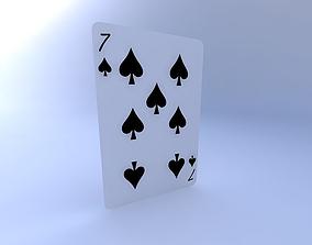 Seven of Spades 3D