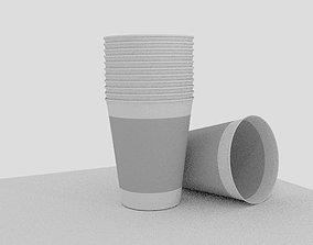 Cardboard cup 3D