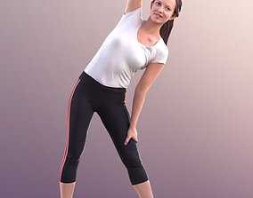Nadin 10754 - Stretching Girl 3D asset