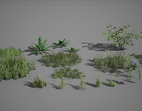 UE4 - Forest Foliage 3D asset low-poly