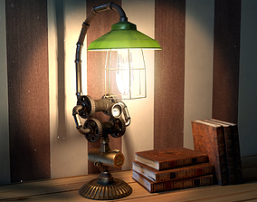 3D asset SteamPunk Fantasy Light version02