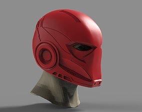 RedHood helmet 3D printable model redhood