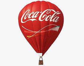 Air Balloon Coca Cola 3D