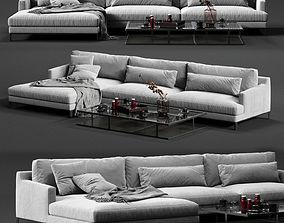 POLIFORM BELLPORT Corner Sofa 3D furniture