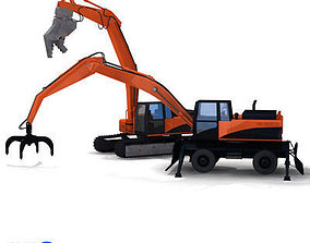 excavator collection 1 3D