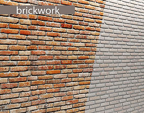 Bricks wall 3D 70