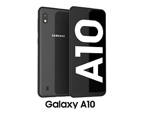 Samsung Galaxy A10 Black 3D model