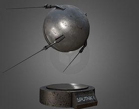 Sputnik 1 Replica 3D model