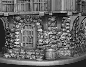 3D print model Medieval house