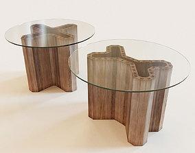 Set of 2 Swallow tables 3D model