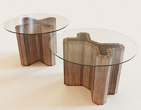 Set of 2 Swallow tables 3D model