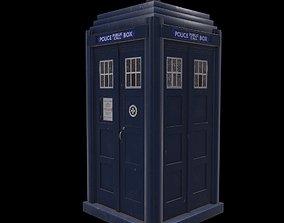 3D model Mark 2 Metropolitan Police Box
