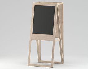 Easel 01 3D model