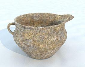 3D asset Pot antique 5