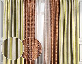 3D Curtain Set 126