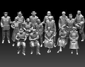 3D printable model people