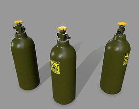 Propane Tank 3D asset game-ready