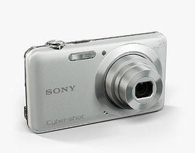 3D asset Sony DSC-W710 Silver compact digital camera