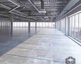 3D model Loft Interior 7