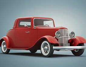 3D Ford Model B Coupe