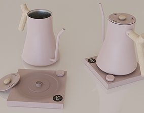 3D model Contemporary colourful kettle2-pink