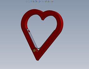 Marriage carabiner 3D model